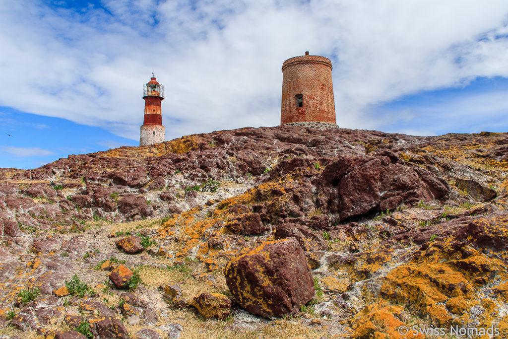 Leuchtturm Pinguin Insel