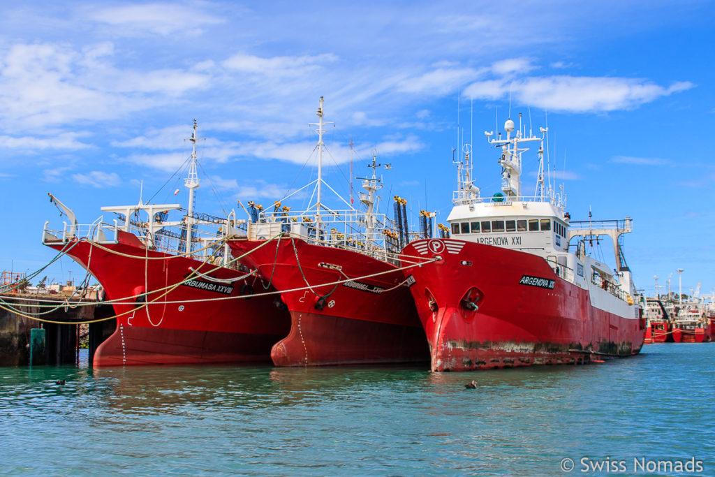 Puerto Deseado Hafen