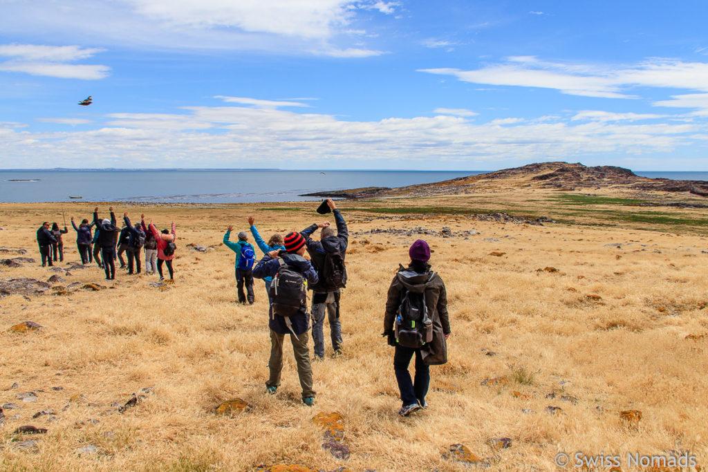 Wandern Puerto Deseado Insel