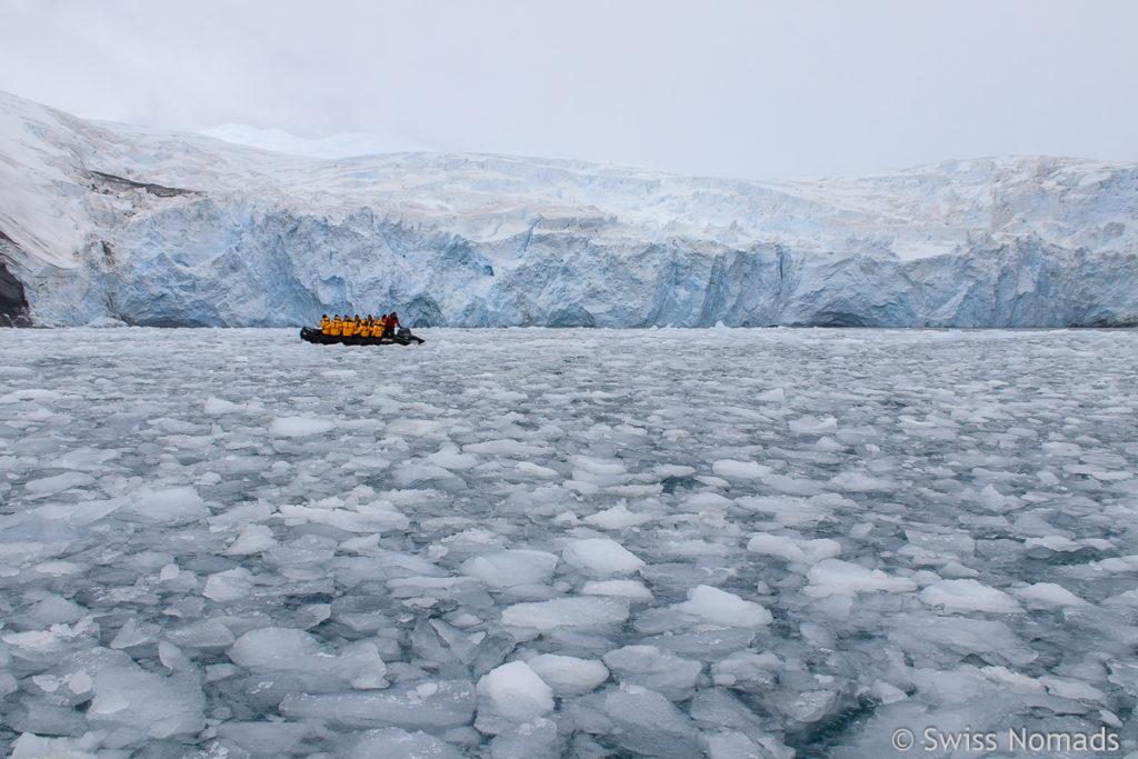 Zodiac Tour in der Antarktis