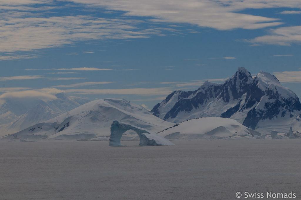 Eislandschaft in der Antarktis