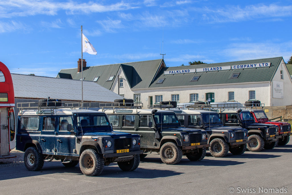Land Rover in Stanley
