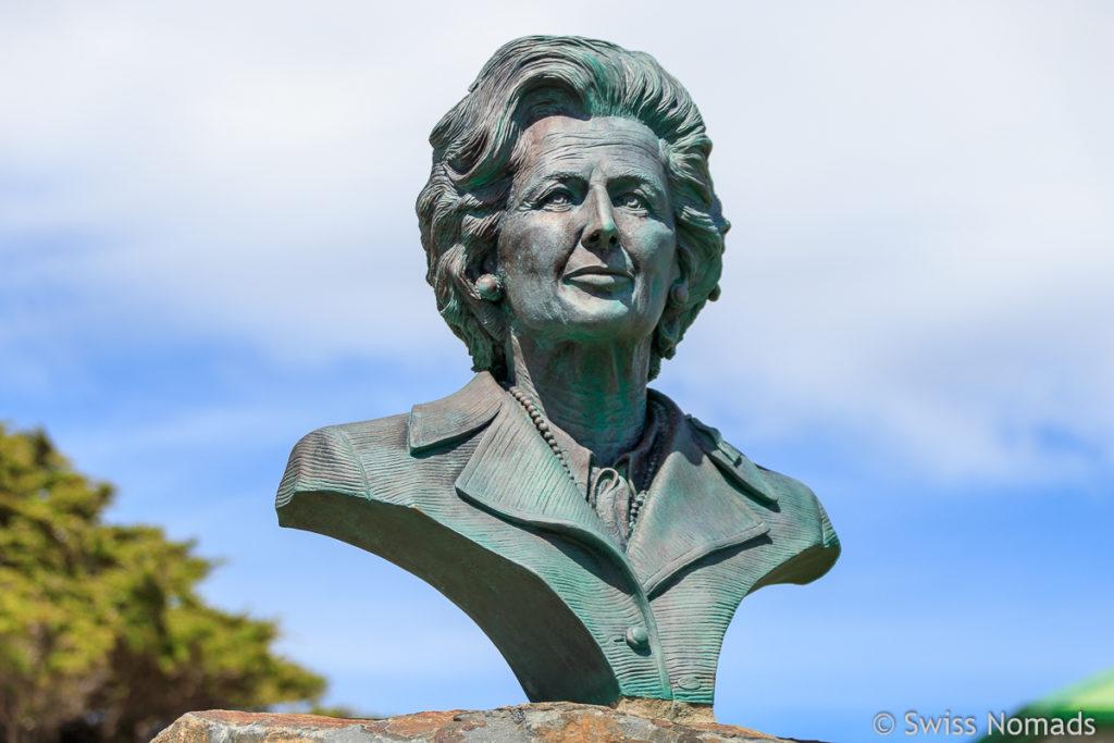 Büste von Margaret Thatcher