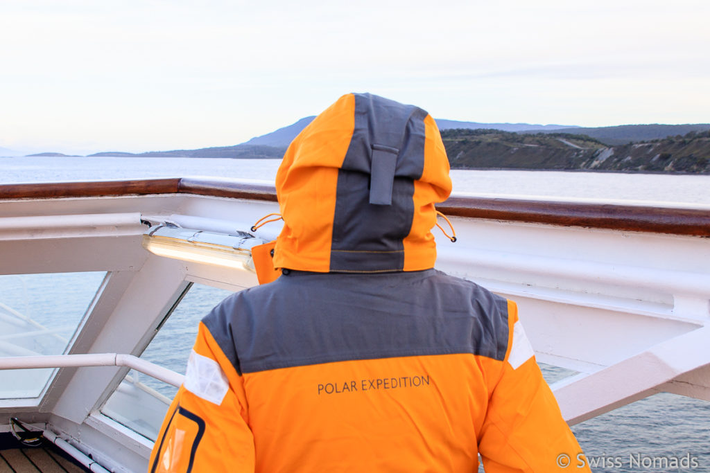 Parka für die Antarktis Expedition