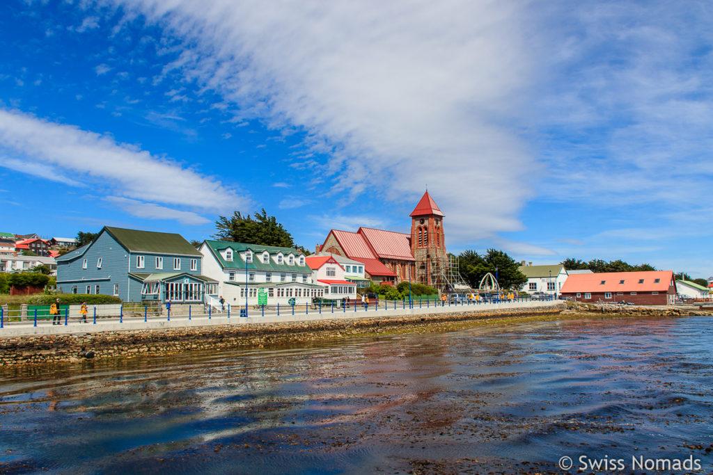Stanley Hauptstadt der Falklandinseln